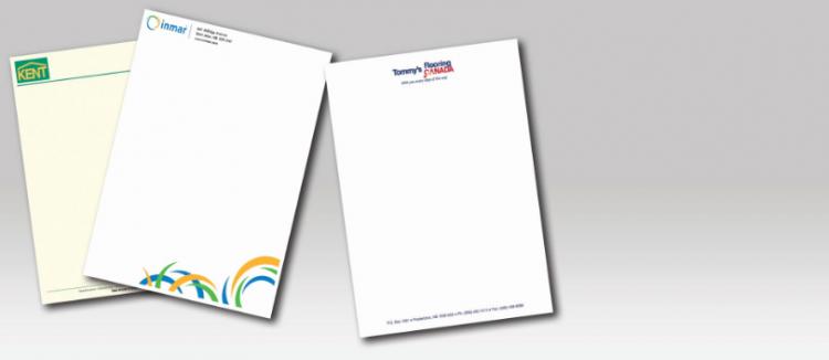 business letterhead printing Melbourne